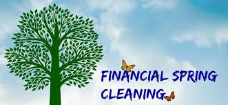 Financial Spring Cleaning