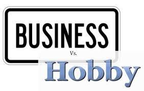 Business vs. Hobby