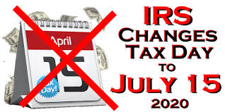 Tax Day Is July 15th